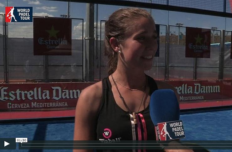Martita Ortega, en el Mutua Madrid Open