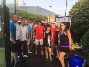 Torneo de A Tope de Pádel en La Finca