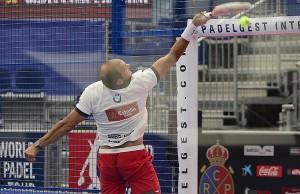 Seba Nerone, en el Estrella Damm Barcelona Open