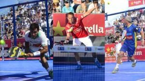 Montaje de cuartos en el Estrella Damm Barcelona Open