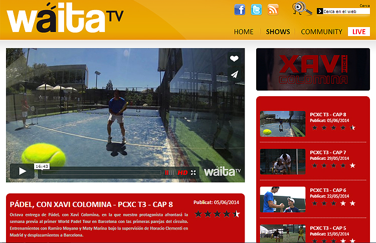 Programa de Xavi Colomina - Waita TV