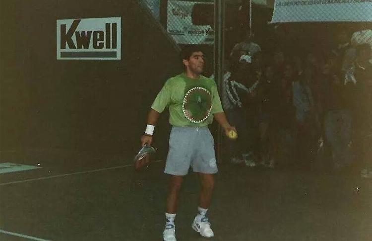 Maradona, un gran padelero