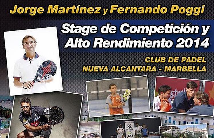 Stage de Alto Rendimiento de Jorge Martínez