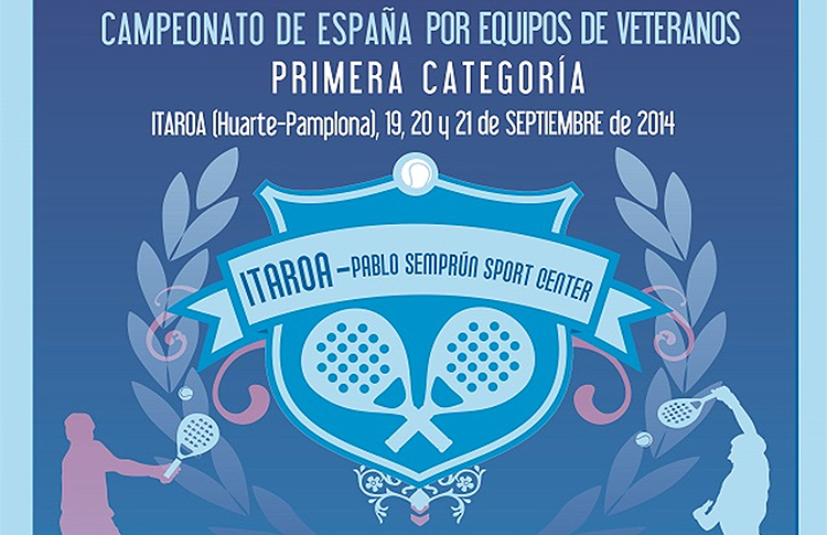 Cpto España de Veteranos 1ª Categoria 2014