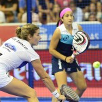 Icíar Montes y Alejandra Salazar, en el Estrella Damm Alcobendas Open