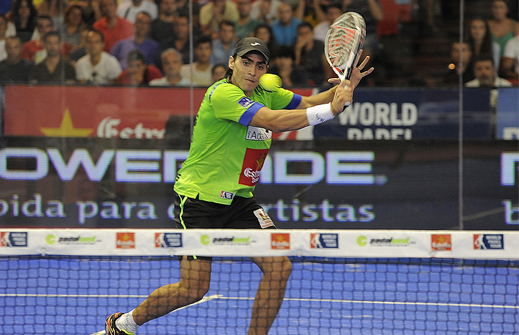 Juani Mieres, all'Estrella Damm Sevilla Open