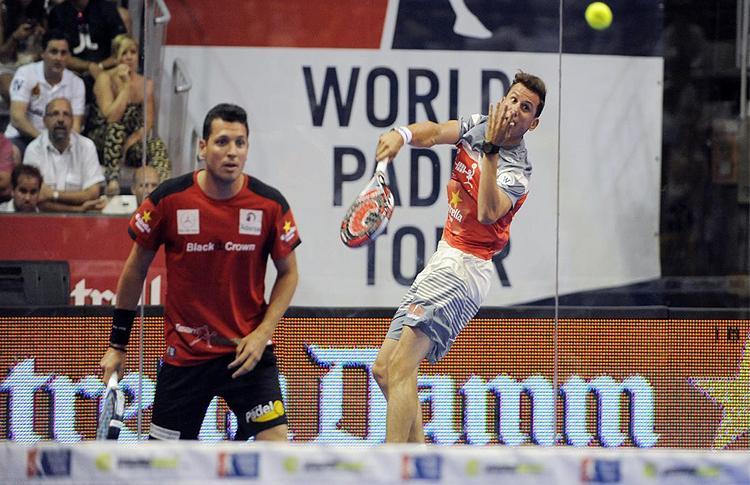 Paquito Navarro y Tito Allemandi, en el Estrella Damm Castellón Open