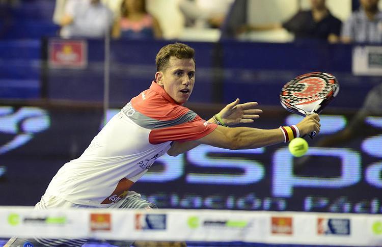 Paquito Navarro, en el Estrella Damm Alcobendas Open