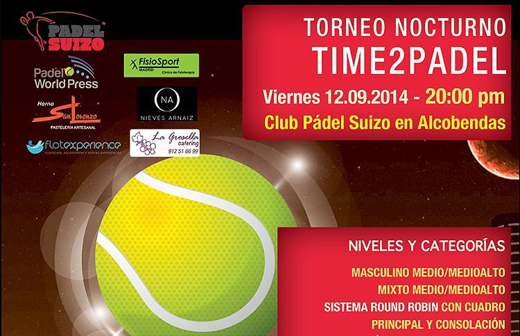 Último Torneo Nocturno Time2Pádel
