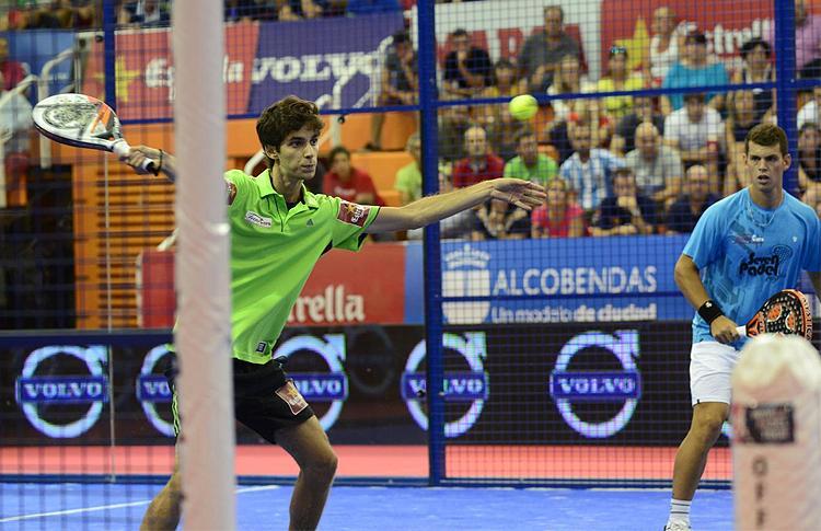 Ramiro Moyano y Matías Marina, en el Estrella Damm Alcobendas Open