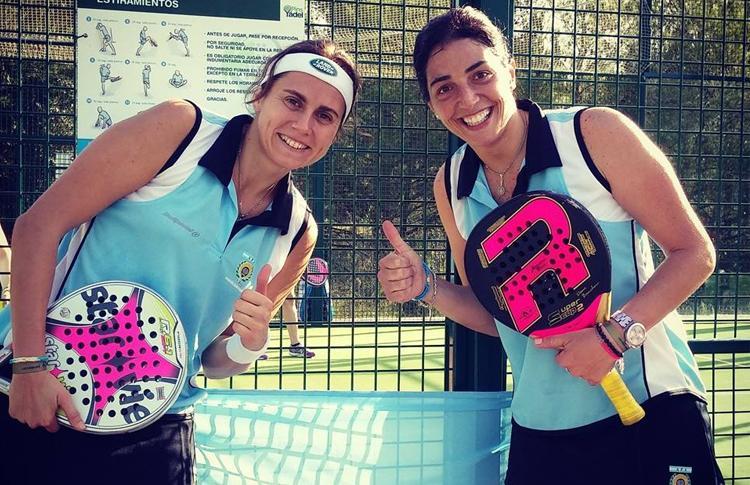 Cecilia Reiter y Daniela Banchero, en el Mundial 2014