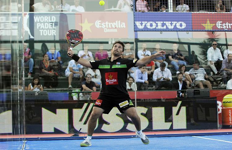 Matías Díaz, en el Estrella Damm Lisboa Open