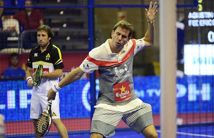 Paquito Navarro y Maxi Grabiel, en el Estrella Damm Tenerife Open