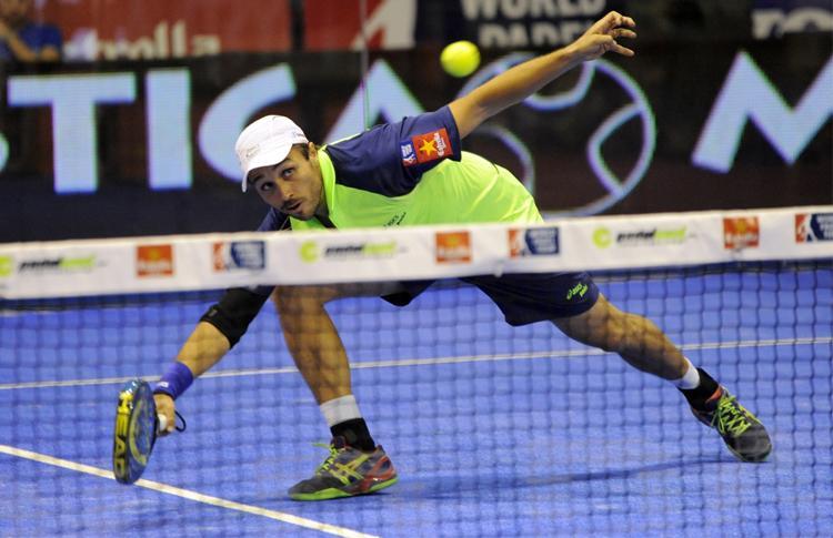 Fernando Belasteguín, en el Estrella Damm Sevilla Open