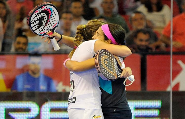 Icíar Montes y Alejandra Salazar celebran una nueva victoria