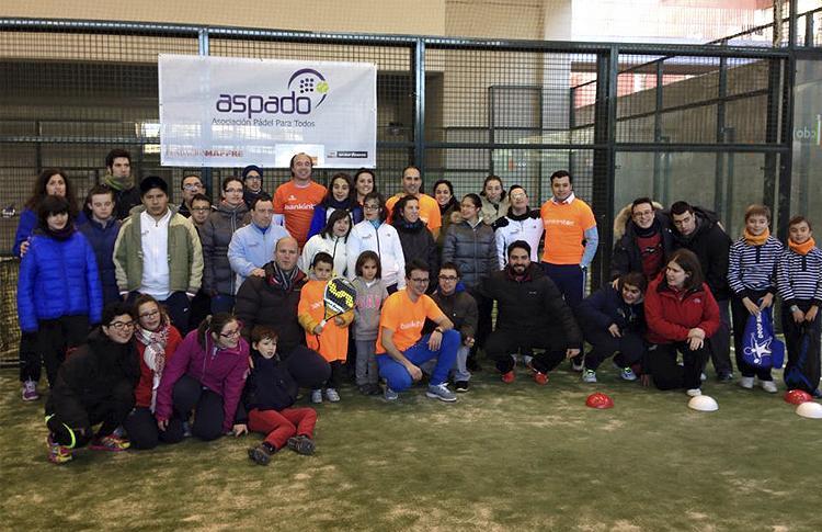 Éxito de I Torneo Benéfico de Bankinter-ASPADO