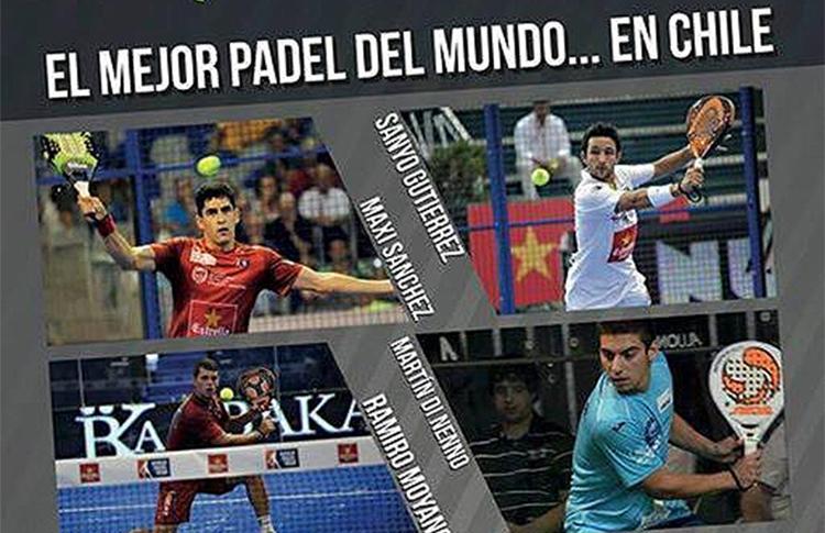 Chile ya vibra con la visita de cuatro grandes jugadores