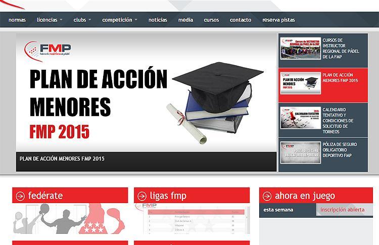 Plan de Menores de la Federación Madrileña