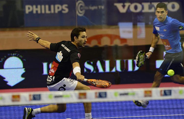 Sanyo Gutiérrez, en el Estrella Damm San Fernando Open