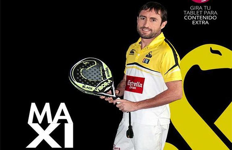 Maxi Grabiel, portada del número 4 de la Revista TopPádel 360
