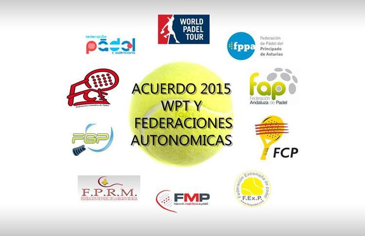World Pádel Tour y su acuerdo con 9 Federaciones Autonómicas