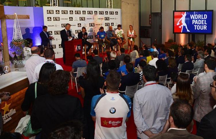 Presentación Circuito World Pádel Tour 2014