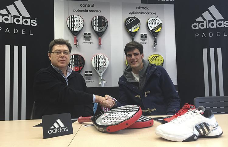 Javier Concepción, nuevo fichaje de Adidas Pádel