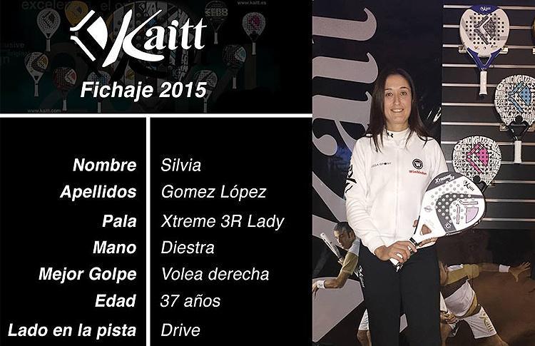 Silvia Gómez, nuevo fichaje de Kaitt