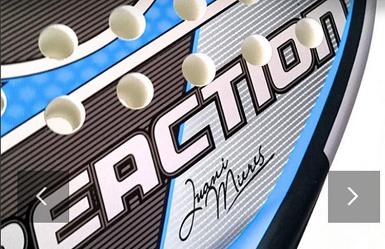 Dunlop Reaction, la nueva pala de Juani Mieres
