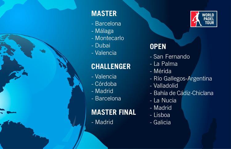 Calendario Oficial World Pádel Tour 2015