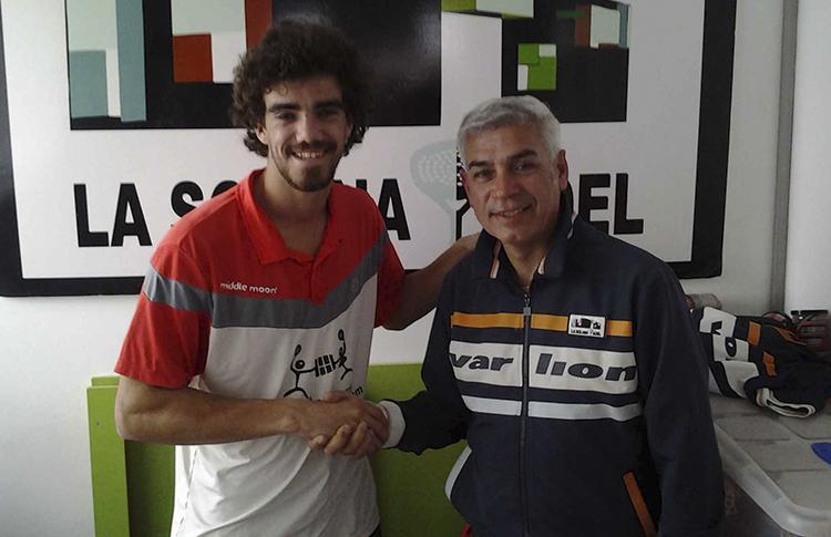Juan Lebrón, un gran fichaje para La Solana Pádel
