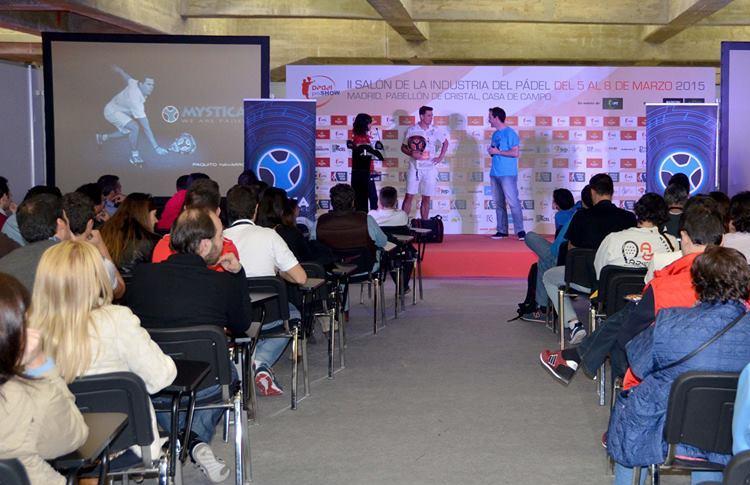 Paquito Navarro, en su presentación como nuevo jugador de Mystica