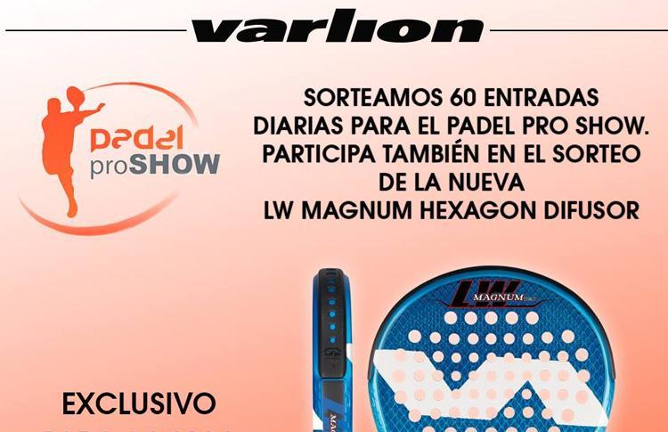 Varlion, una de las protagonistas en Pádel Pro Show