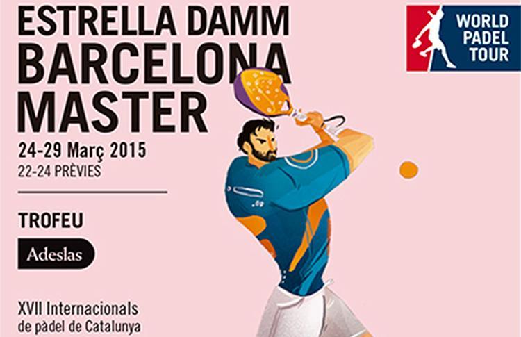 Cartel del Estrella Damm Barcelona Máster
