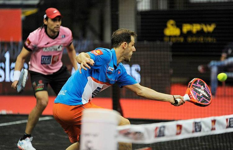 Juan Martín Díaz y Juani Mieres, en el Estrella Damm La Palma Open