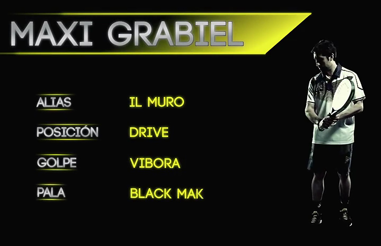 Select Player: Maxi Grabiel