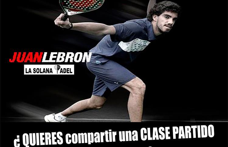 Juan Lebrón ya prepara su nueva 'Clase Partido' en La Solana