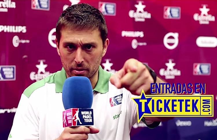 Matías Díaz y su invitación a que nadie se pierda el Rio Gallegos-Argentina Open
