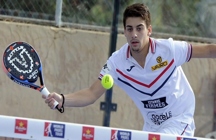 Martín di Nenno, en el Río Gallegos-Argentina Open