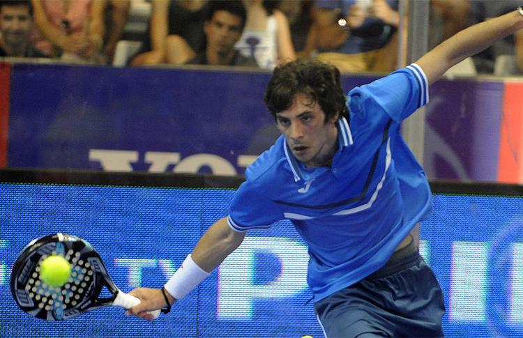 Franco Stupaczuk, en acción en el Río Gallegos-Argentina Open