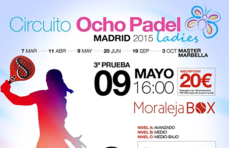 III Torneo del Circuito OchoPádel Madrid Ladies