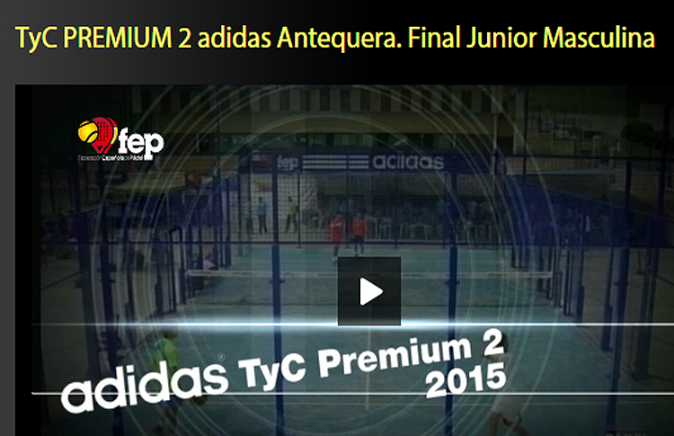 Final Junior Masculina TyC Premium 2 Adidas