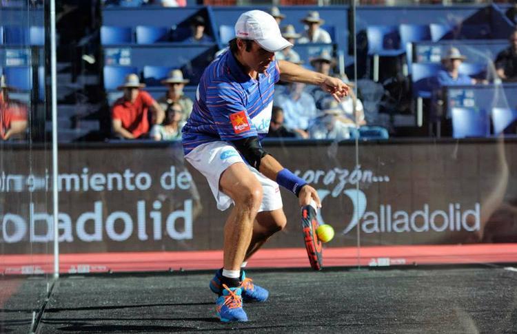 Fernando Belasteguín, en el Estrella Damm Valladolid Open