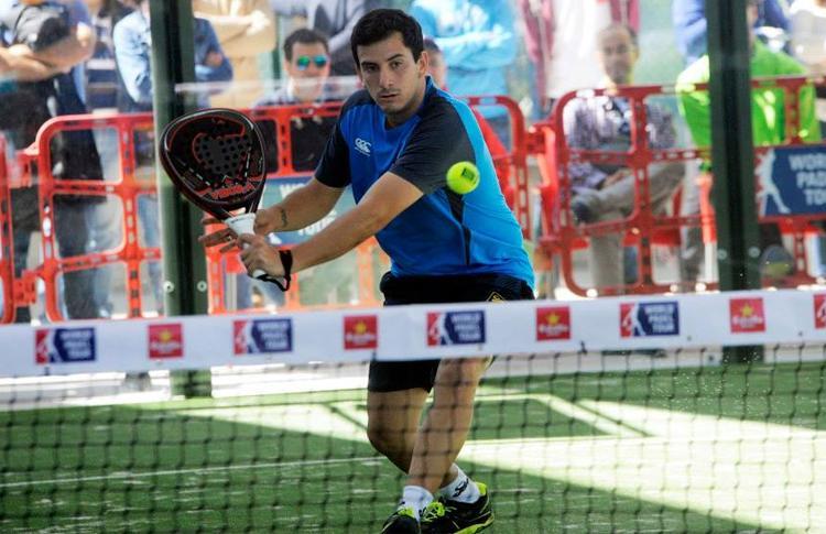 Juan Cruz Belluati, en el Estrella Damm Valladolid Open