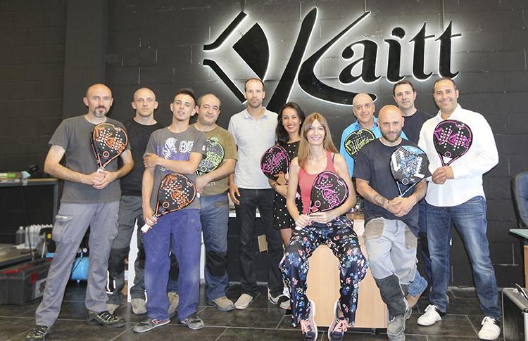 El equipo al completo de Kaitt Excellence
