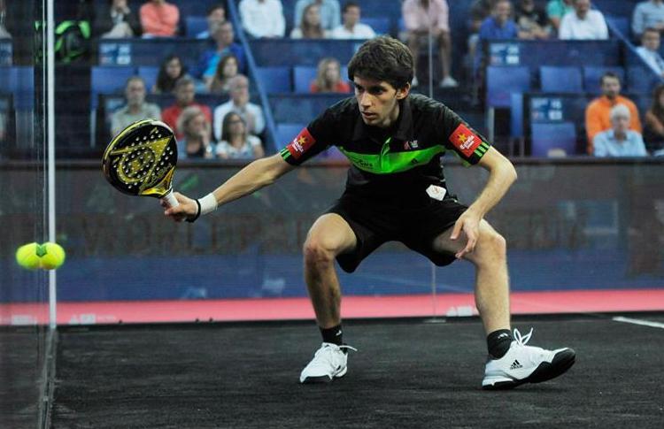 Matías Marina, en el Estrella Damm Valladolid Open