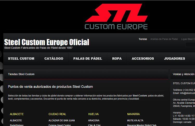 Steel Custom denuncia la venta de sus productos por canales no autorizados