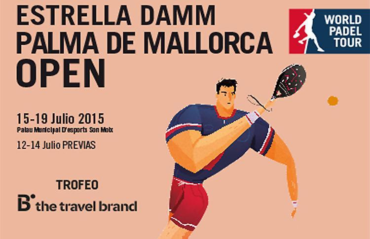 Cartel del Estrella Damm Palma de Mallorca Open