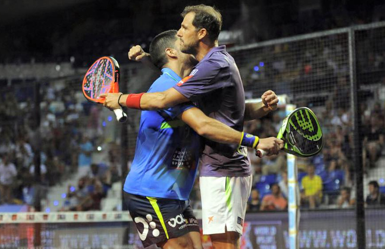 Maxi Sánchez y Juan Martín Díaz, en el Estrella Damm Palma de Mallorca Open