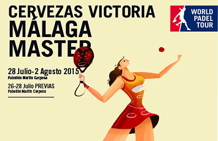 Cartel del Cervezas Victoria Málaga Máster